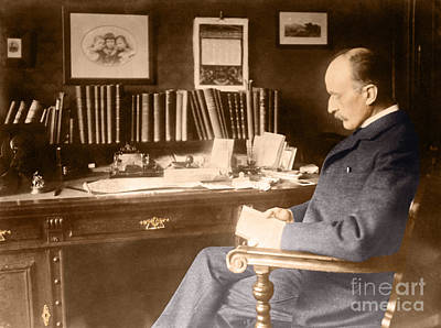 Max Planck, German Physicist Art Print by Science Source