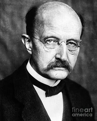 Photograph - Max Planck  by Granger