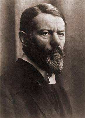 Max Weber 1864-1920, German Political Art Print by Everett