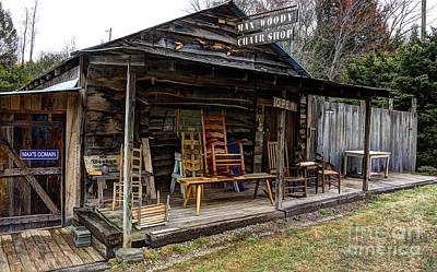 Photograph - Max Woody's Chair Shop by Paul Mashburn