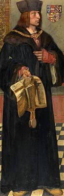 Painting - Maximilian I Holy Roman Emperor by Hendrik Jan August Leys