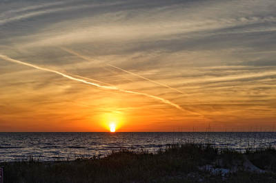 Southwest Florida Sunset Photograph - Maxine Barritt Park Sunset   -  Maxbarr874 by Frank J Benz