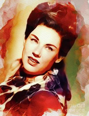 Rock And Roll Royalty-Free and Rights-Managed Images - Maxine Brown, Country Music Legend by John Springfield