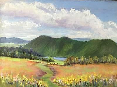 Pastel - Maxwell Farm by Diane Szlachetka