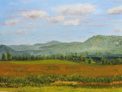 Painting - Maxwell Farm by Ken Weatherbee