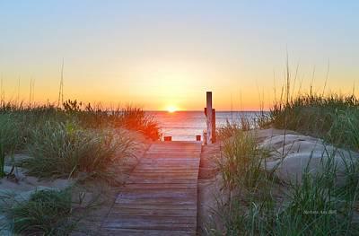 Photograph - May 26, 2017 Sunrise by Barbara Ann Bell