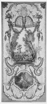 May And June Part Of A Set Illustrating The Months Of The Year Original by Follower of Antoine Watteau