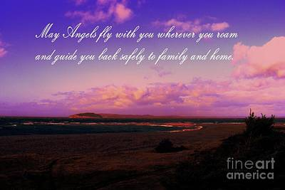 Photograph - May Angels Fly With You by Barbara Griffin