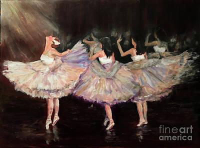 Painting - May Ballet Recital by Sandra Nardone