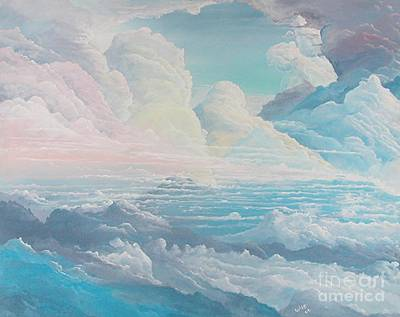 May Colored Clouds Art Print by John Wise