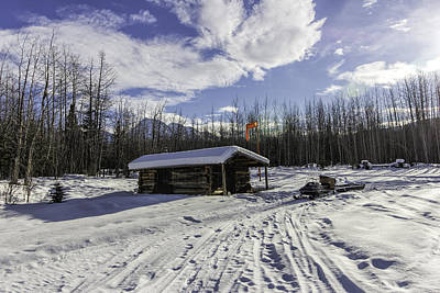 Photograph - May Creek Mail Shack by Fred Denner