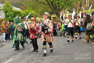 Photograph - May Day Morris In Hastings by David Fowler