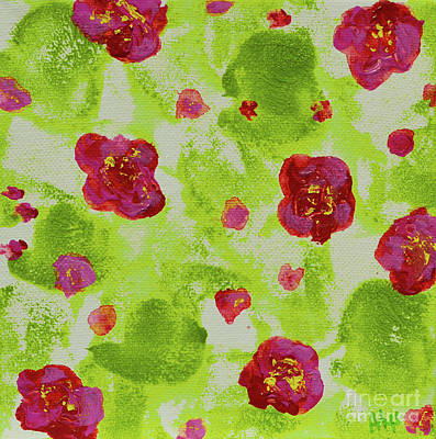 Painting - May Flowers by Alys Caviness-Gober