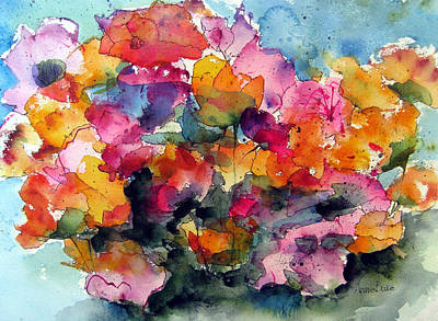 Painting - May Flowers by Anne Duke
