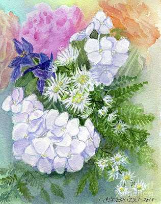 Painting - May Flowers by Carole DiTerlizzi