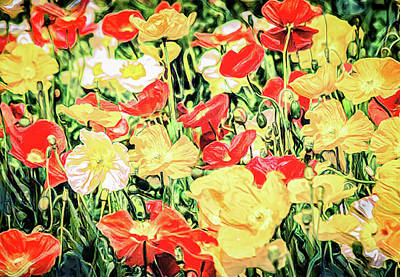 Mixed Media - May Flowers From April Showers by Joseph Hollingsworth