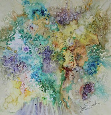 Painting - May Flowers by Joanne Smoley