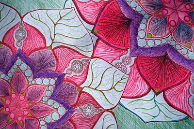 Drawing - May Flowers by Michele Bullock
