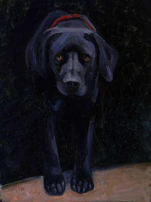 Painting - May I Come In? by Billie Colson