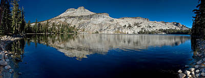 May Lake Panorama Art Print