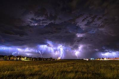 Photograph - May Lightning by Brandon Green