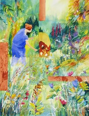 May Meadow Art Print