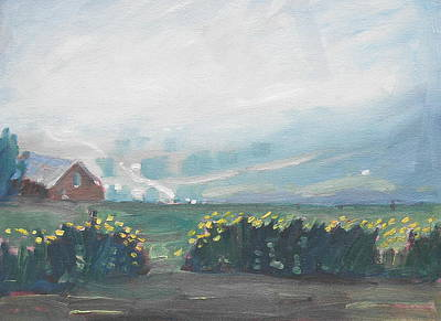 Painting - May Morning by Len Stomski
