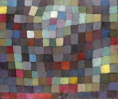 Painting - May Picture by Paul Klee