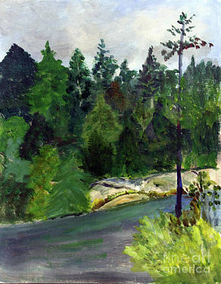 Painting - May Pond by Donna Walsh