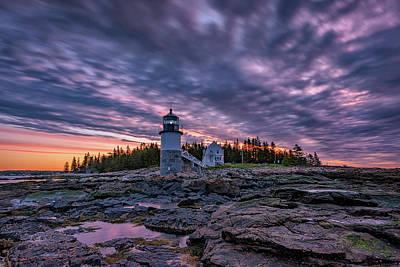 Photograph - May Sunrise At Marshall Point by Rick Berk