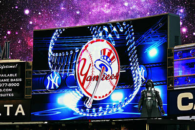 Photograph - May The Force Be With You Yankee Fans by Aurelio Zucco