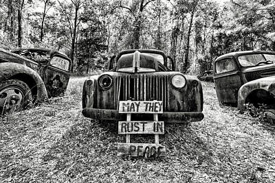 Photograph - May They Rust In Peace by Jose Luis Vilchez