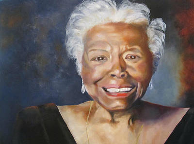 Painting - Maya Angelou by Lisa Boyd