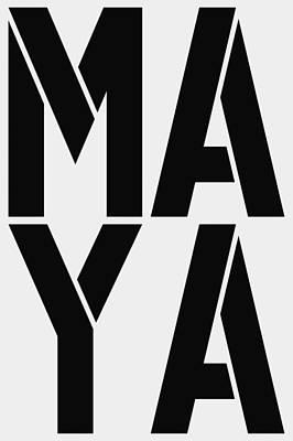Avatar Painting - Maya by Three Dots