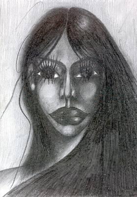 Creativity Drawing - Maya by Wojtek Kowalski