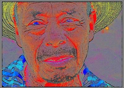 Mayan Campesino From Santiago Atitlan, Guatemala 2 Art Print by Eye Browses