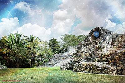 Photograph - Mayan Cloud Art by John Potts
