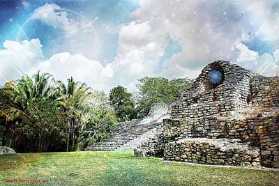 Photograph - Mayan Cloud Art by John Potts