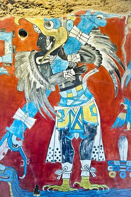 Mayan Fresco II Art Print
