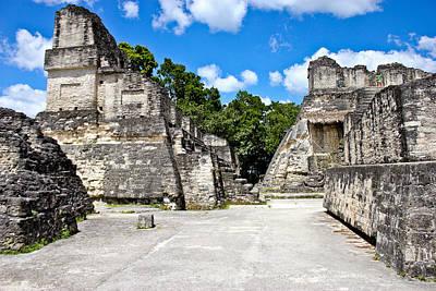 Photograph - Mayan Maze by Theresa Muench