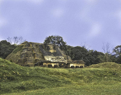 Mayan Ruins In Belize Art Print
