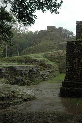 Photograph - Mayan Ruins by Lori Mellen-Pagliaro