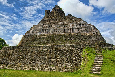 Photograph - Mayan Temple Belize by Waterdancer