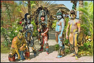 Mayans Art Print by Jorge Gaete