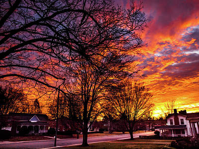 Photograph - Mayberry Sunrise by Randy Sylvia