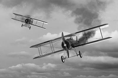 Photograph - Mayday - Spad S 13 by Gill Billington