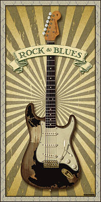 John Mayer Digital Art - Mayer Rock And Blues by WB Johnston