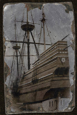 Photograph - Mayflower 1 by John Meader