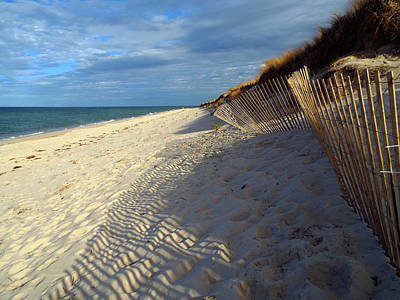 Photograph - Mayflower Beach - Cape Cod by Dianne Cowen