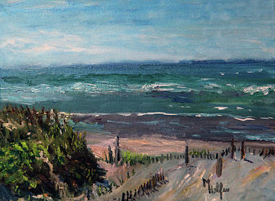 Painting - Mayflower Beach by Michael Helfen